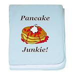 Pancake Junkie baby blanket