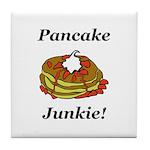 Pancake Junkie Tile Coaster