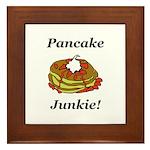 Pancake Junkie Framed Tile