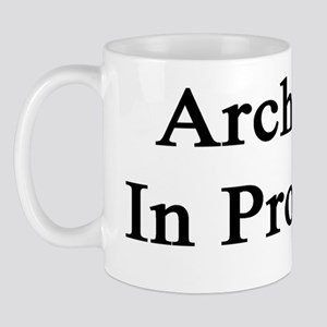 Architect In Progress Mug