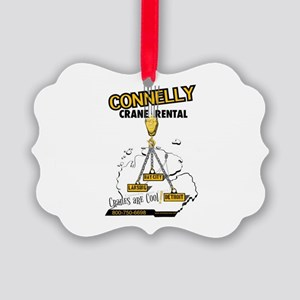 Connelly Crane Rental Ornament