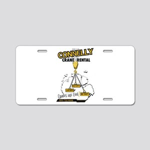 Connelly Crane Rental Aluminum License Plate