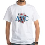 ATC (Any 2 Cards) White T-Shirt