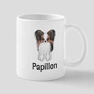 Papillon (word) Mug