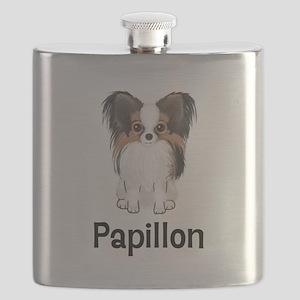 Papillon (word) Flask