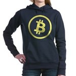 Bitcoin Logo Yellow 1000 Hooded Sweatshirt