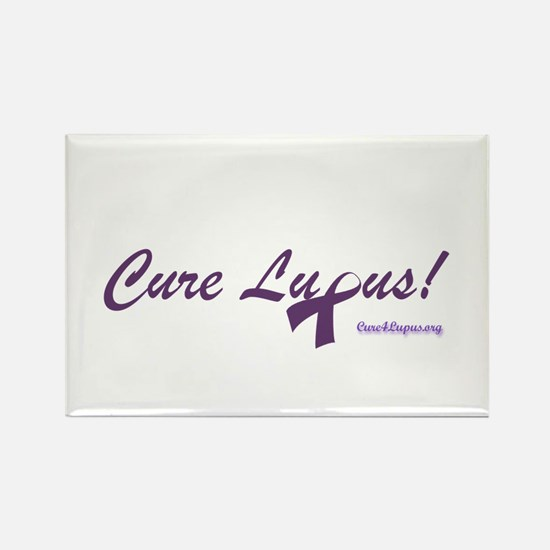 Cure Lupus Rectangle Magnet