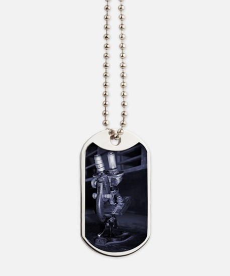 Old Microscope Dog Tags