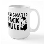 Designated Pack Mule Large Mug