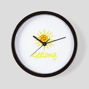 Geelong, Australia Wall Clock