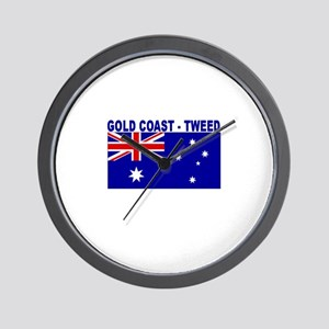 Gold Coast - Tweed, Australia Wall Clock