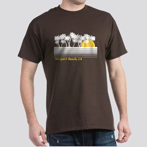 Newport Beach California Dark T-Shirt