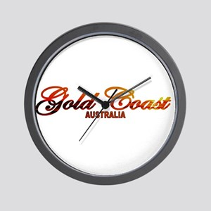 Gold Coast, Australia Wall Clock