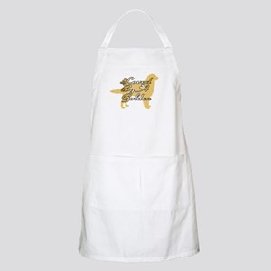 Loved By A Golden BBQ Apron