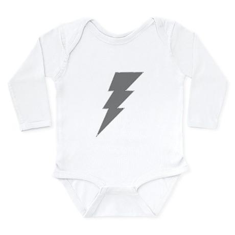 The Lightning Grey Shop Body Suit