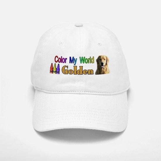 Color My World Golden Baseball Baseball Cap