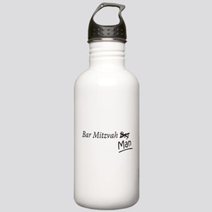Funny Bar-Mitzvah B... Water Bottle