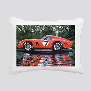 Ferrari GTO Le Mans 62 G Rectangular Canvas Pillow