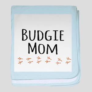 Budgie Mom baby blanket