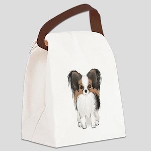 Papillon (pic) Canvas Lunch Bag