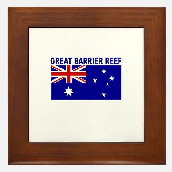 Great Barrier Reef, Australia Framed Tile