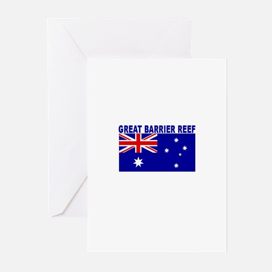 Great Barrier Reef, Australia Greeting Cards (Pack