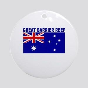 Great Barrier Reef, Australia Ornament (Round)