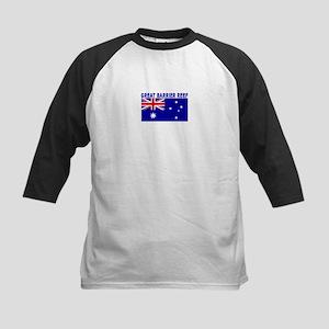 Great Barrier Reef, Australia Kids Baseball Jersey