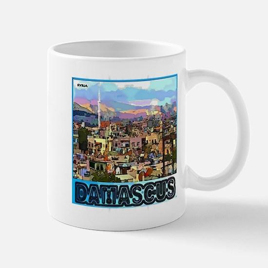 Damascus Mugs