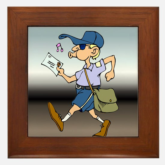 mailCarrierWhMaleTile.png Framed Tile
