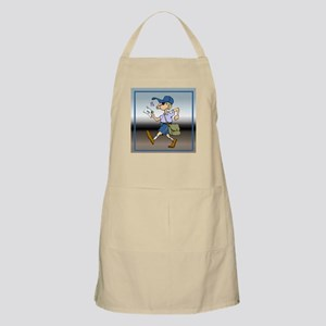 mailCarrierWhMaleTile Apron