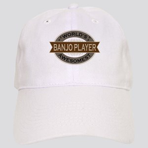 Awesome Banjo Player Cap