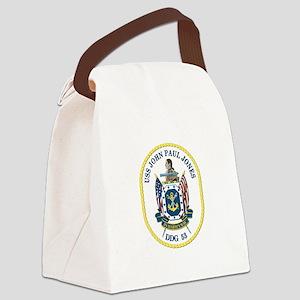 USS John Paul Jones (DDG-53) Canvas Lunch Bag