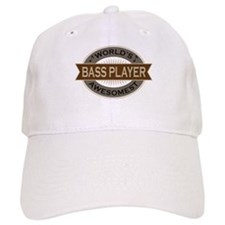 Awesome Bass Player Cap