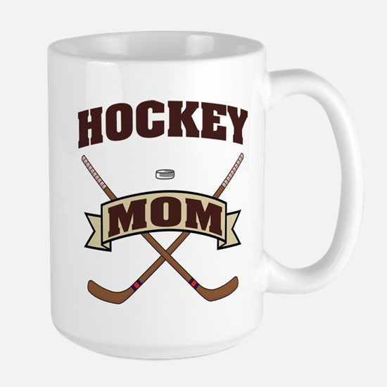 Hockey Mom Large Mug