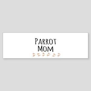 Parrot Mom Bumper Sticker