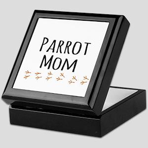 Parrot Mom Keepsake Box