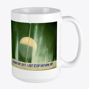 Cassini Voyager RIP Mugs