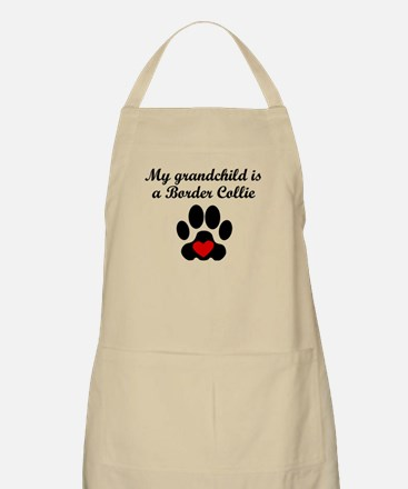 Border Collie Grandchild Apron