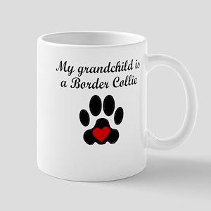 Border Collie Grandchild Mugs