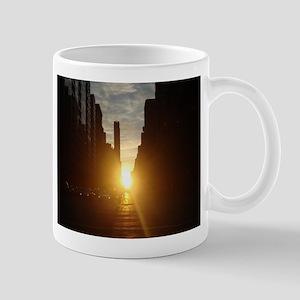 Manhattanhenge Mugs