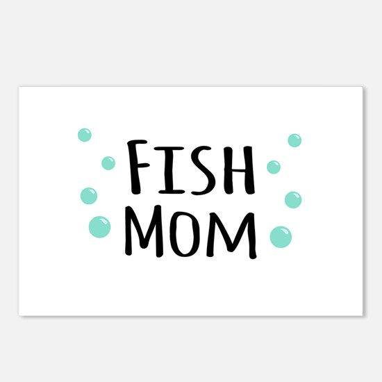 Fish Mom Postcards (Package of 8)