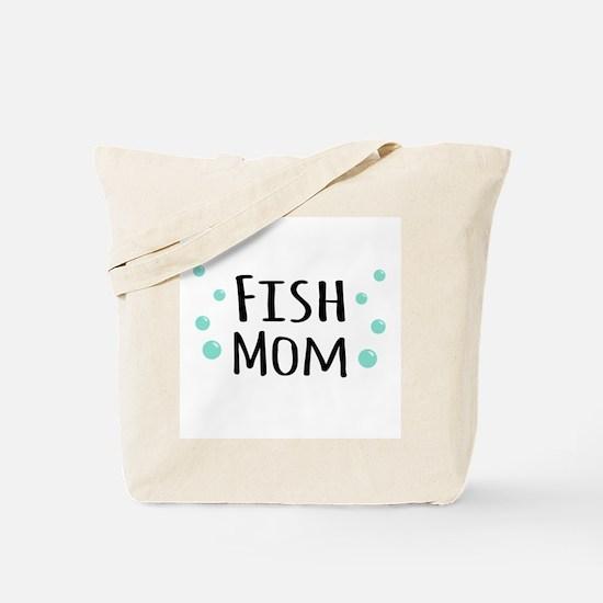 Fish Mom Tote Bag