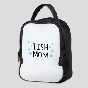 Fish Mom Neoprene Lunch Bag