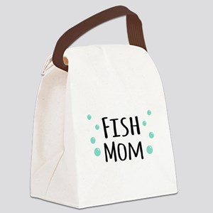 Fish Mom Canvas Lunch Bag