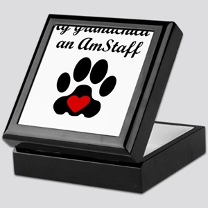 AmStaff Grandchild Keepsake Box
