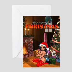 Rude Christmas Greeting Cards - CafePress