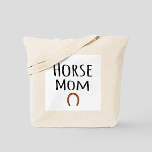 Horse Mom Tote Bag