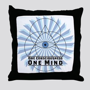 3rd Eye - One Consciousness One Mind Throw Pillow