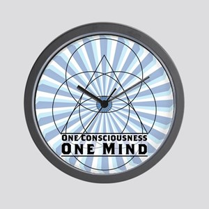 3rd Eye - One Consciousness One Mind Wall Clock
